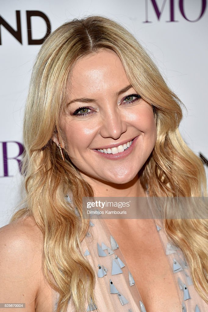 Actress Kate Hudson attends The Cinema Society with Lands' End screening of Open Road Films' 'Mother's Day' at Metrograph on April 28, 2016 in New York City.