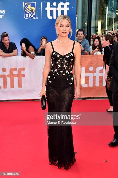 Actress Kate Hudson attends the 'Deepwater Horizon' premiere during the 2016 Toronto International Film Festival at Roy Thomson Hall on September 13...