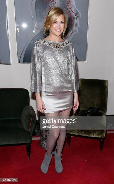 Actress Kate Hudson attends the Dolce Gabbana's 'The One' Fragrance Launch and Private Dinner at The Grammercy Park Hotel on december 4 2007 in New...