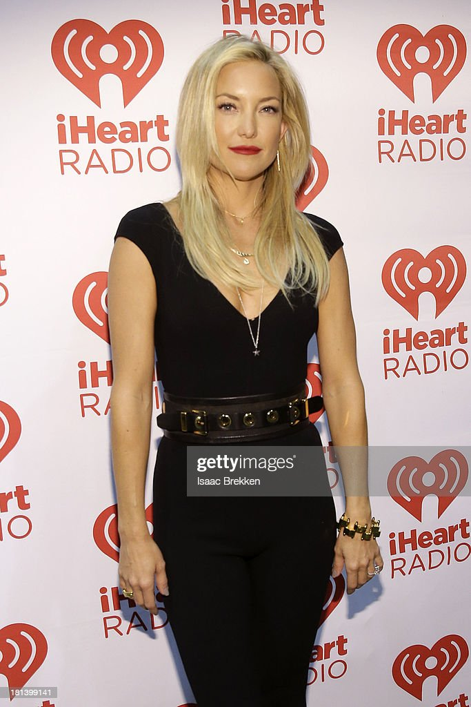 Actress <a gi-track='captionPersonalityLinkClicked' href=/galleries/search?phrase=Kate+Hudson&family=editorial&specificpeople=156407 ng-click='$event.stopPropagation()'>Kate Hudson</a> attends the iHeartRadio Music Festival at the MGM Grand Garden Arena on September 20, 2013 in Las Vegas, Nevada.