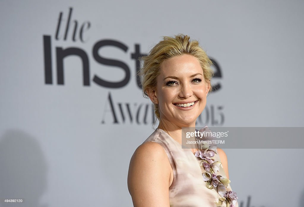 Actress Kate Hudson attends the InStyle Awards at Getty Center on ...