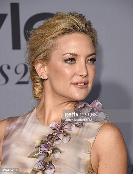 Actress Kate Hudson attends the InStyle Awards at Getty Center on October 26 2015 in Los Angeles California