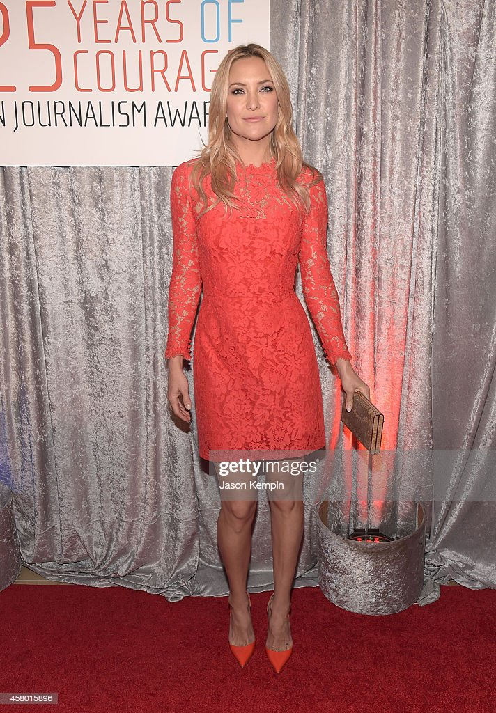 Actress <a gi-track='captionPersonalityLinkClicked' href=/galleries/search?phrase=Kate+Hudson&family=editorial&specificpeople=156407 ng-click='$event.stopPropagation()'>Kate Hudson</a> attends the IWMF Courage In Journalism Awards at The Beverly Hilton Hotel on October 28, 2014 in Beverly Hills, California.