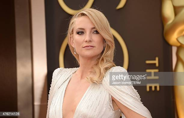 Actress Kate Hudson attends the Oscars held at Hollywood Highland Center on March 2 2014 in Hollywood California
