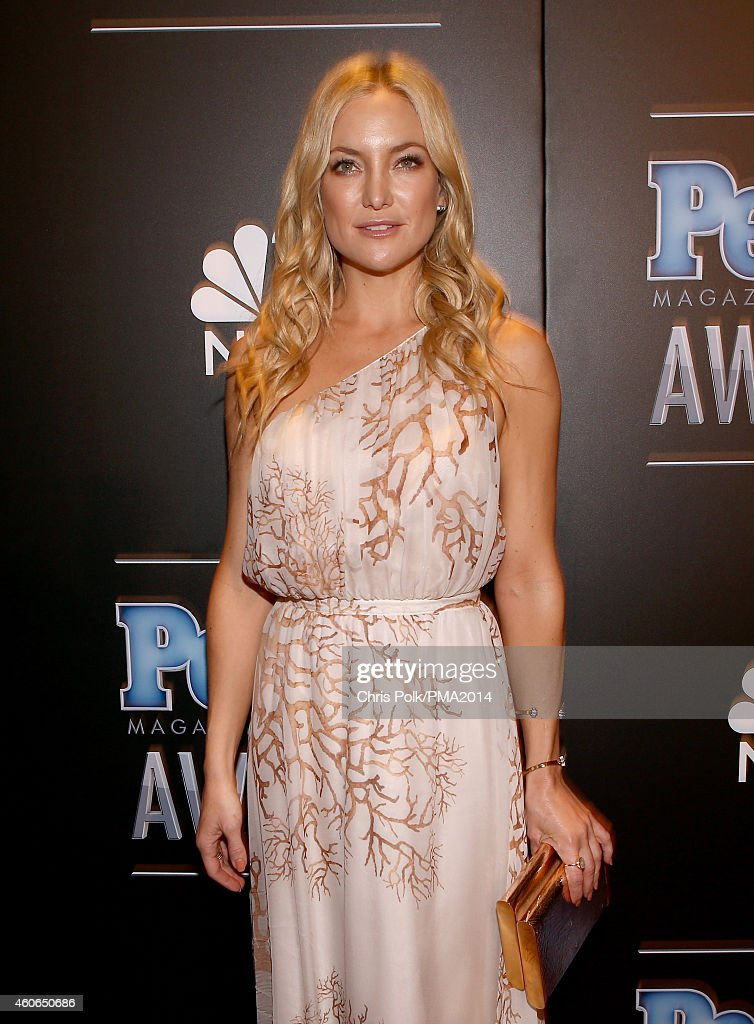 Actress Kate Hudson attends the PEOPLE Magazine Awards at The Beverly Hilton Hotel on December 18, 2014 in Beverly Hills, California.