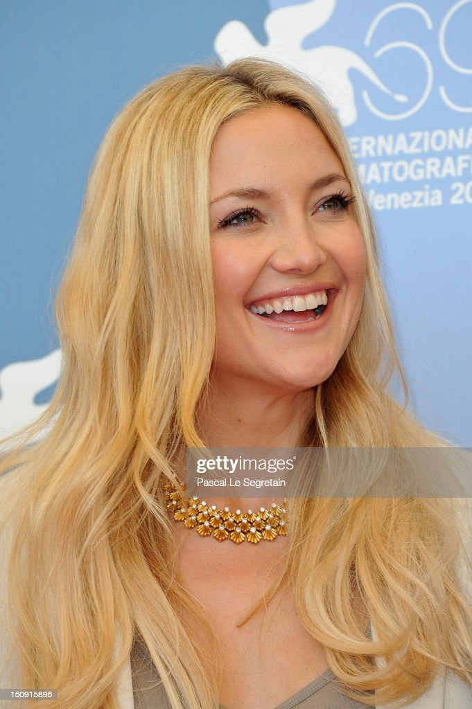 Actress Kate Hudson attends 'The Reluctant Fundamentalist' Photocall during the 69th Venice International Film Festival at Palazzo del Casino on August 29, 2012 in Venice, Italy.