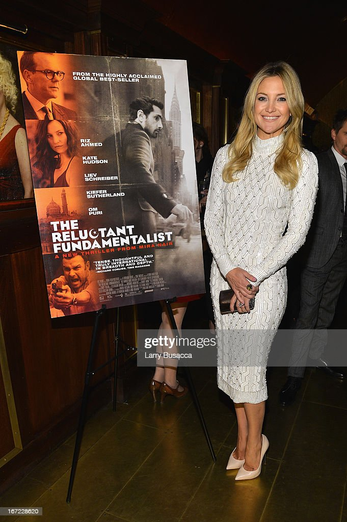 Actress Kate Hudson attends the 'Reluctant Fundamentalist' Pre Party during the 2013 Tribeca Film Festival on April 22 2013 in New York City