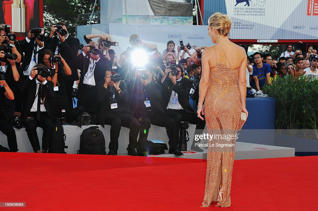 Actress Kate Hudson attends 'The Reluctant Fundamentalist' Premiere And Opening Ceremony during the 69th Venice International Film Festival at Palazzo del Cinema on August 29, 2012 in Venice, Italy.