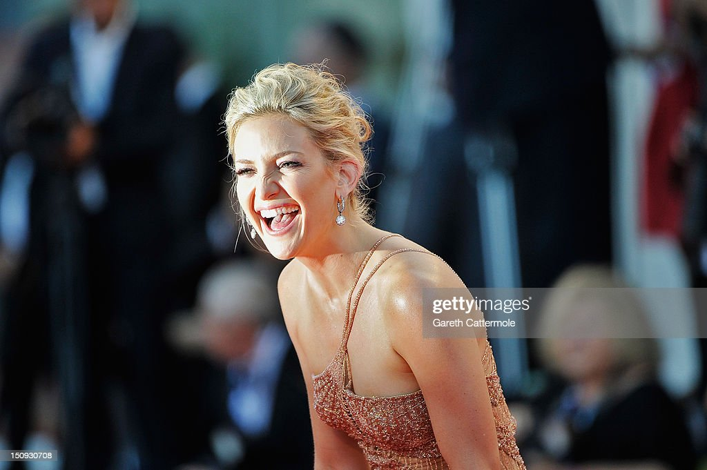 Actress <a gi-track='captionPersonalityLinkClicked' href=/galleries/search?phrase=Kate+Hudson&family=editorial&specificpeople=156407 ng-click='$event.stopPropagation()'>Kate Hudson</a> attends 'The Reluctant Fundamentalist' Premiere And Opening Ceremony during the 69th Venice International Film Festival at Palazzo del Cinema on August 29, 2012 in Venice, Italy.