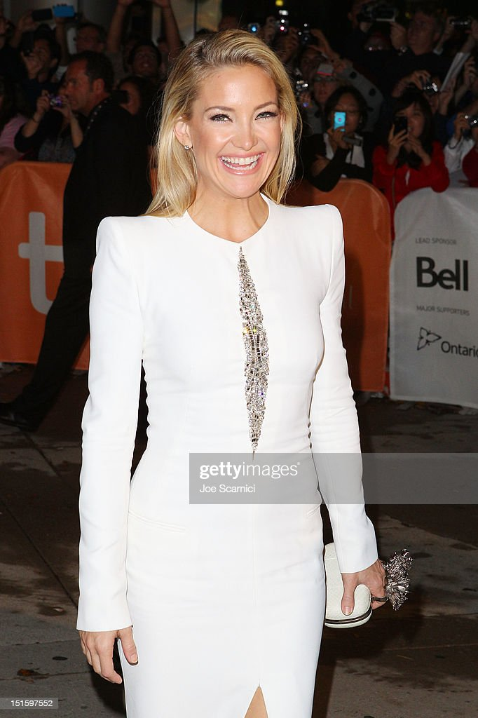 Actress <a gi-track='captionPersonalityLinkClicked' href=/galleries/search?phrase=Kate+Hudson&family=editorial&specificpeople=156407 ng-click='$event.stopPropagation()'>Kate Hudson</a> attends 'The Reluctant Fundamentalist' premiere during the 2012 Toronto International Film Festival at Roy Thomson Hall on September 8, 2012 in Toronto, Canada.