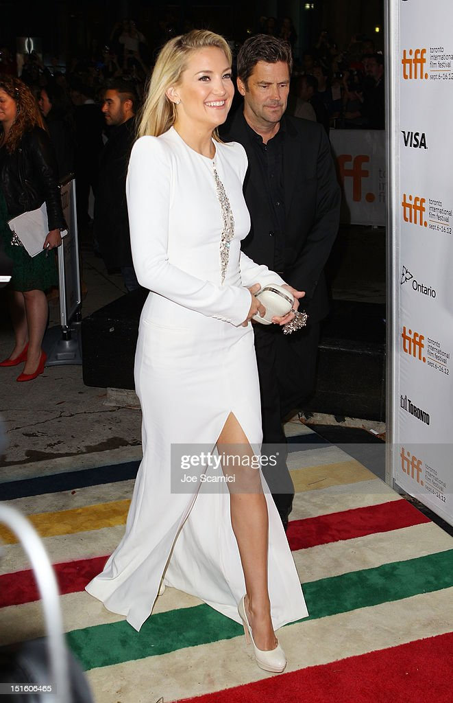 Actress Kate Hudson attends 'The Reluctant Fundamentalist' premiere during the 2012 Toronto International Film Festival at Roy Thomson Hall on September 8, 2012 in Toronto, Canada.