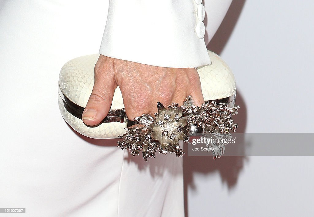 Actress Kate Hudson (accessory detail) attends 'The Reluctant Fundamentalist' premiere during the 2012 Toronto International Film Festival at Roy Thomson Hall on September 8, 2012 in Toronto, Canada.