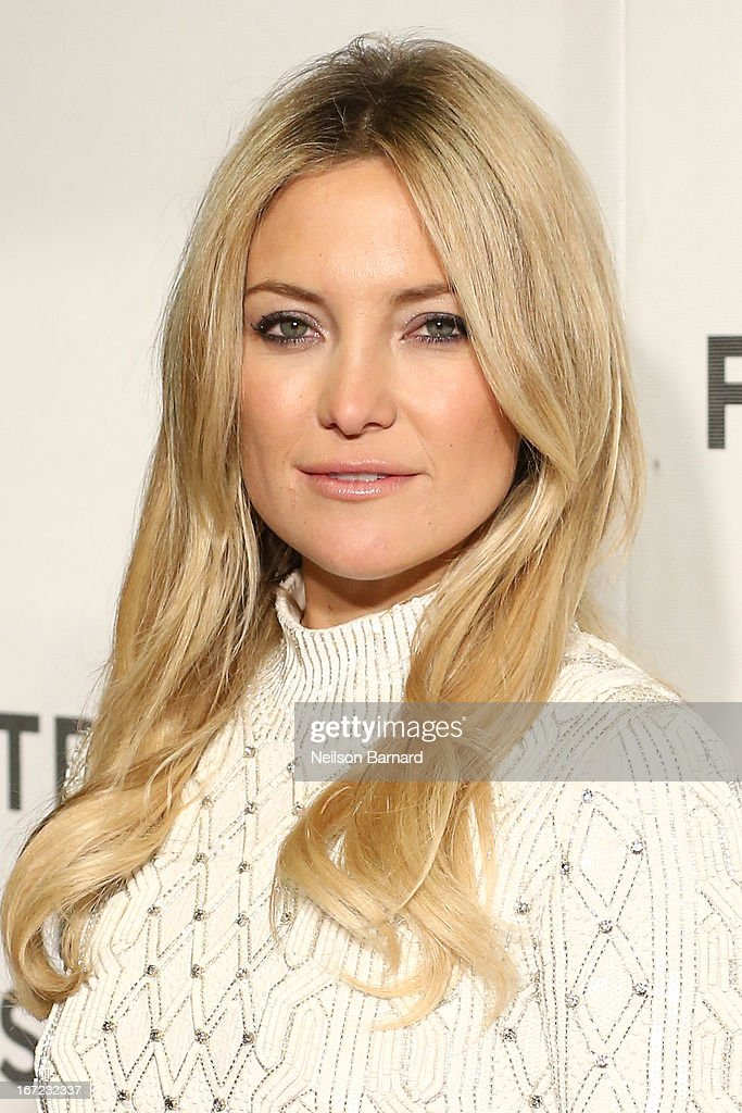 Actress <a gi-track='captionPersonalityLinkClicked' href=/galleries/search?phrase=Kate+Hudson&family=editorial&specificpeople=156407 ng-click='$event.stopPropagation()'>Kate Hudson</a> attends the 'Reluctant Fundamentalist' US Premiere during the 2013 Tribeca Film Festival on April 22, 2013 in New York City.