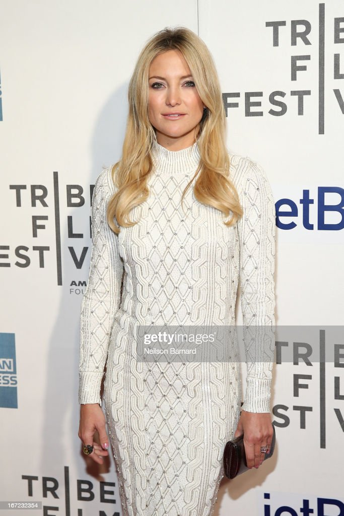 Actress Kate Hudson attends the 'Reluctant Fundamentalist' US Premiere during the 2013 Tribeca Film Festival on April 22 2013 in New York City