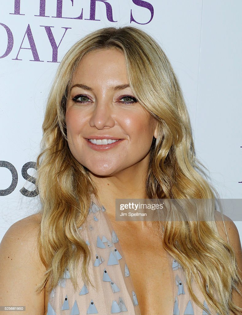 Actress Kate Hudson attends the screening of Open Road Films' 'Mother's Day' hosted by The Cinema Society with Lands' End at Metrograph on April 28, 2016 in New York City.