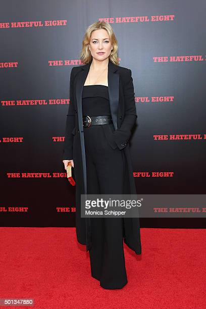 Actress Kate Hudson attends the The New York Premiere Of 'The Hateful Eight' on December 14 2015 in New York City
