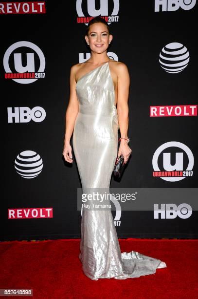Actress Kate Hudson enters the 21st Annual Urbanworld Film Festival at AMC Empire 25 theater on September 23 2017 in New York City