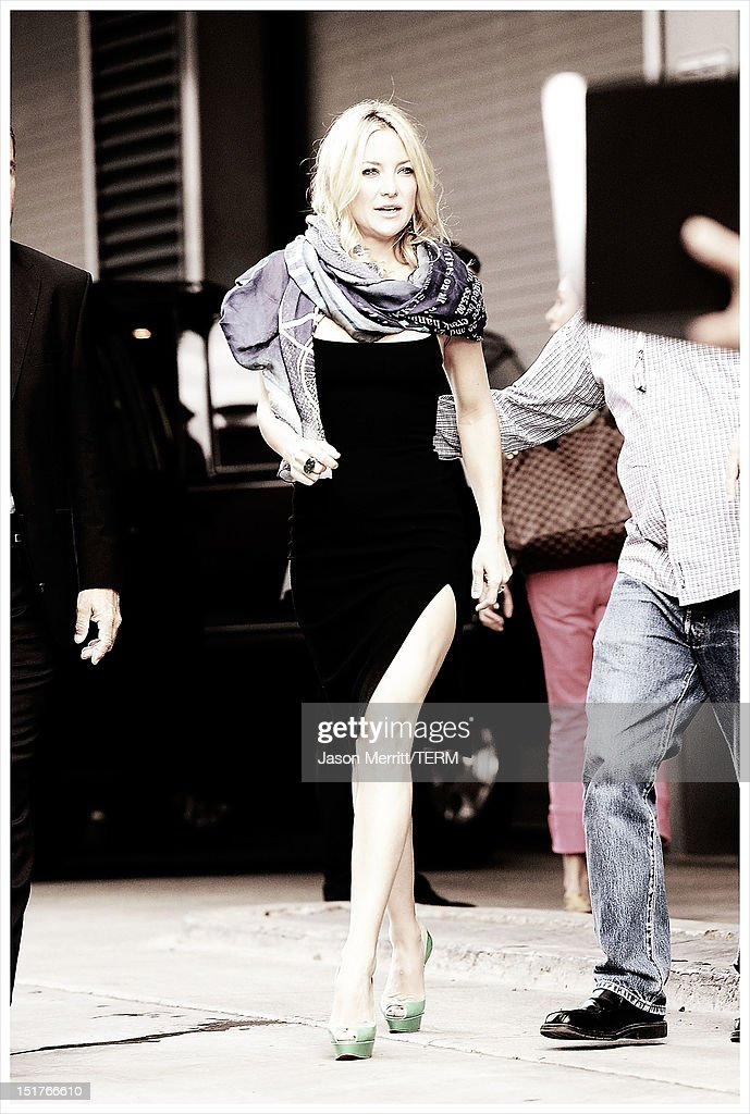 Image was processed using various digital filters) Actress <a gi-track='captionPersonalityLinkClicked' href=/galleries/search?phrase=Kate+Hudson&family=editorial&specificpeople=156407 ng-click='$event.stopPropagation()'>Kate Hudson</a> exits 'The Reluctant Fundamentalist' Press Conference during the 2012 Toronto International Film Festival at TIFF Bell Lightbox on September 9, 2012 in Toronto, Canada.