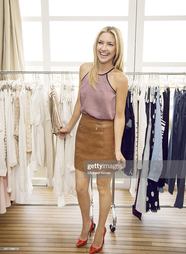 Actress Kate Hudson is photographed at an Ann Taylor event for Ann Taylor on May 8 2014 in Beverly Hills California