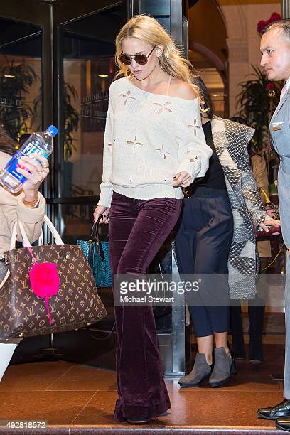 Actress Kate Hudson is seen in Midtown on October 15 2015 in New York City