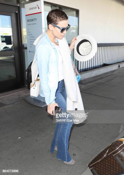 Actress Kate Hudson is seen on October 20 2017 in Los Angeles CA