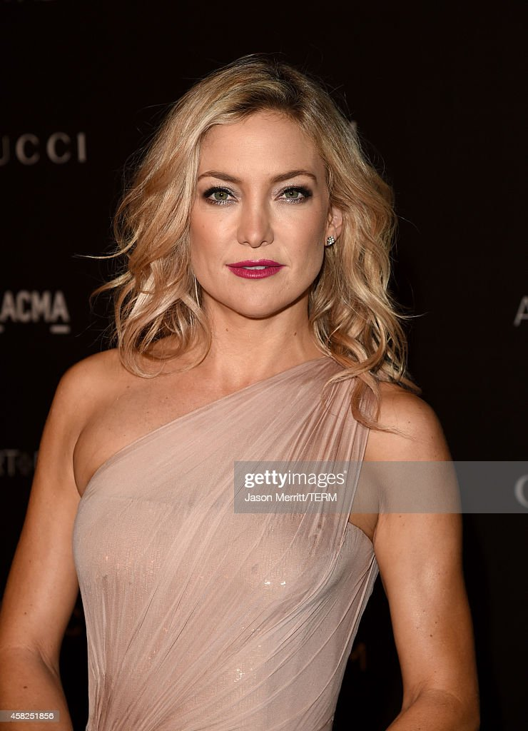 Actress <a gi-track='captionPersonalityLinkClicked' href=/galleries/search?phrase=Kate+Hudson&family=editorial&specificpeople=156407 ng-click='$event.stopPropagation()'>Kate Hudson</a>, wearing Gucci, attends the 2014 LACMA Art + Film Gala honoring Barbara Kruger and Quentin Tarantino presented by Gucci at LACMA on November 1, 2014 in Los Angeles, California.