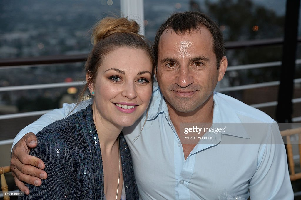 Actress Kate Jenkinson and Rob Marsala attend the Australians In Film and Heath Ledger Scholarship Host 5th Anniversary Benefit Dinner on June 12, 2013 in Los Angeles, California.