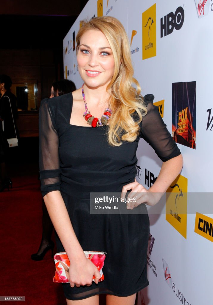 Actress Kate Jenkinson attends the 2nd Annual Australians in Film Awards Gala at Intercontinental Hotel on October 24, 2013 in Beverly Hills, California.
