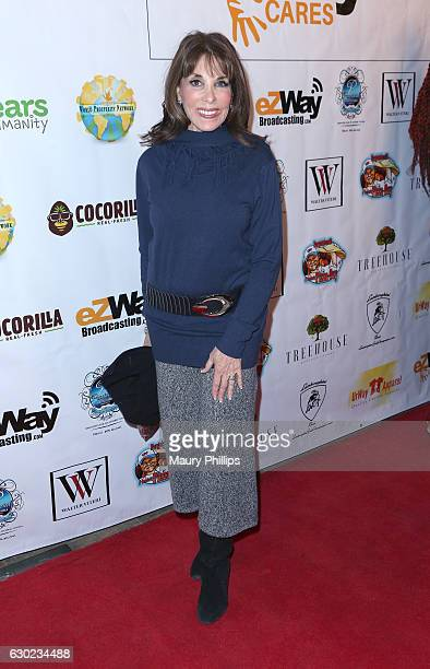 Actress Kate Linder arrives at eZWayCares Community Santa Toy Drive on December 18 2016 in Los Angeles California