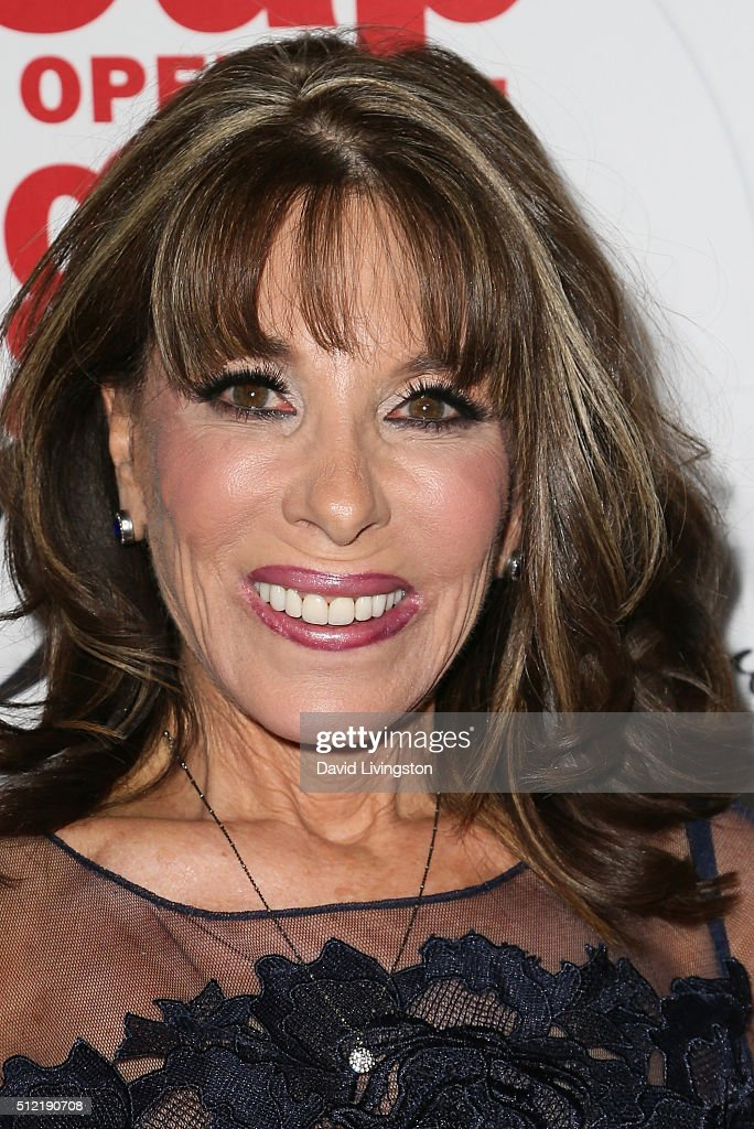 Actress Kate Linder arrives at the 40th Anniversary of the Soap Opera Digest at The Argyle on February 24 2016 in Hollywood California