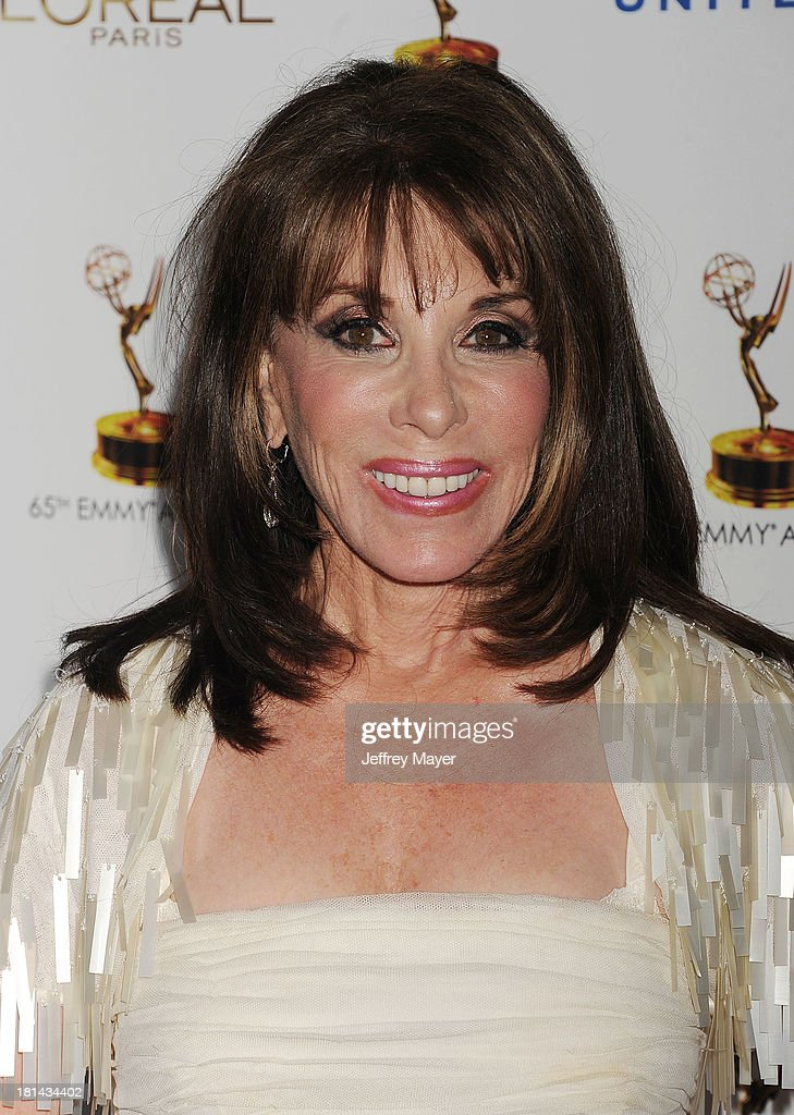 Actress Kate Linder arrives at the 65th Emmy Awards Performers Nominee Reception at Spectra by Wolfgang Puck at the Pacific Design Center on...