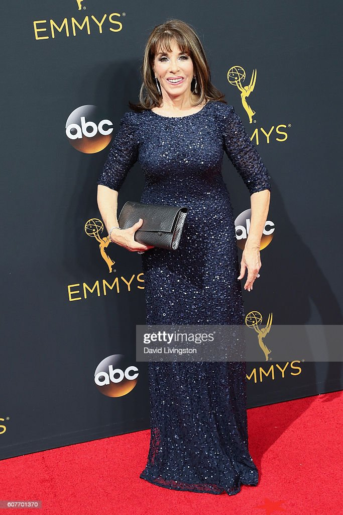 Actress Kate Linder arrives at the 68th Annual Primetime Emmy Awards at the Microsoft Theater on September 18, 2016 in Los Angeles, California.