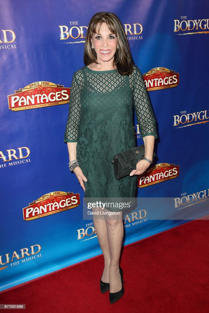 Actress Kate Linder arrives at the premiere of 'The Bodyguard' at the Pantages Theatre on May 2, 2017 in Hollywood, California.