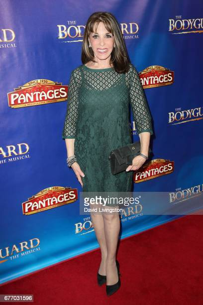 Actress Kate Linder arrives at the premiere of 'The Bodyguard' at the Pantages Theatre on May 2 2017 in Hollywood California