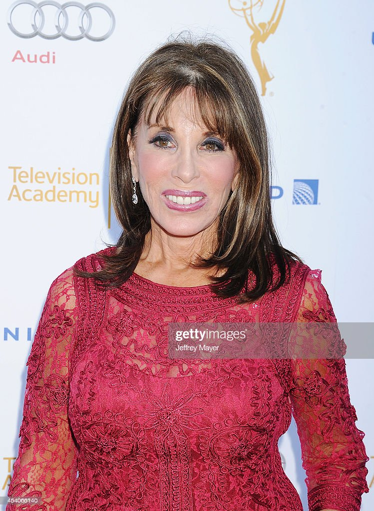 Actress <a gi-track='captionPersonalityLinkClicked' href=/galleries/search?phrase=Kate+Linder&family=editorial&specificpeople=213145 ng-click='$event.stopPropagation()'>Kate Linder</a> arrives at the Television Academy's 66th Emmy Awards Performance Nominee Reception at the Pacific Design Center on Saturday, Aug. 23, 2014, in West Hollywood, California.