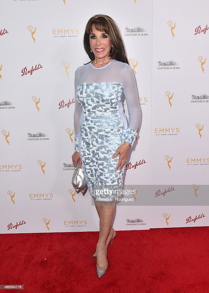 Actress Kate Linder attends a cocktail reception hosted by the Academy of Television Arts Sciences celebrating the Daytime Peer Group at Montage...