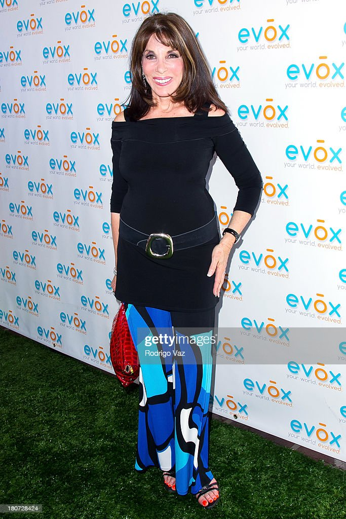 Actress Kate Linder attends green carpet launch of Evox TV debuting Ed Begley's new family show 'On Begley Street' on September 15, 2013 in Pasadena, California.