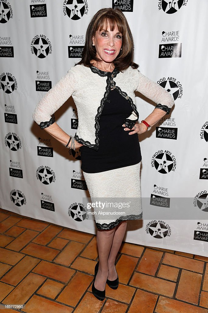 Actress Kate Linder attends Hollywood Arts Council's 27th Annual Charlie Awards Luncheon at Hollywood Roosevelt Hotel on April 5, 2013 in Hollywood, California.