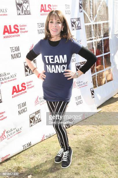 Actress Kate Linder attends Nanci Ryder's 'Team Nanci' at the 15th Annual LA County Walk to Defeat ALS at the Exposition Park on October 15 2017 in...