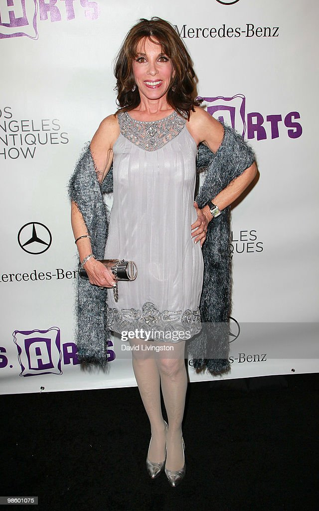 Actress <a gi-track='captionPersonalityLinkClicked' href=/galleries/search?phrase=Kate+Linder&family=editorial&specificpeople=213145 ng-click='$event.stopPropagation()'>Kate Linder</a> attends the 15th Annual Los Angeles Antique Show Opening Night Preview Party benefiting P.S. ARTS at Barker Hanger on April 21, 2010 in Santa Monica, California.