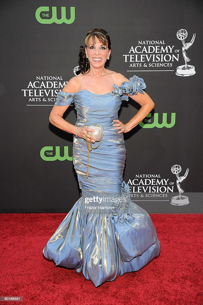 Actress Kate Linder attends the 36th Annual Daytime Emmy Awards at The Orpheum Theatre on August 30, 2009 in Los Angeles, California.