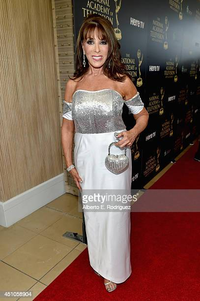 Actress Kate Linder attends The 41st Annual Daytime Emmy Awards at The Beverly Hilton Hotel on June 22 2014 in Beverly Hills California