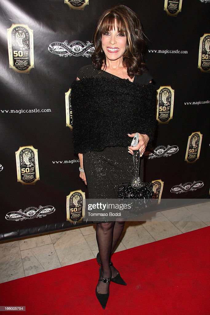 Actress Kate Linder attends the Academy Of Magical Arts 45th Annual AMA Awards Show held at the Orpheum Theatre on April 7, 2013 in Los Angeles, California.