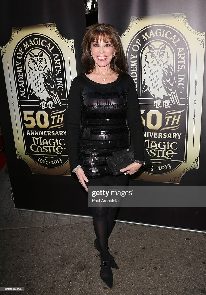 Actress Kate Linder attends the Academy Of Magical Arts 50th Anniversary Gala at The Magic Castle on January 2, 2013 in Hollywood, California.