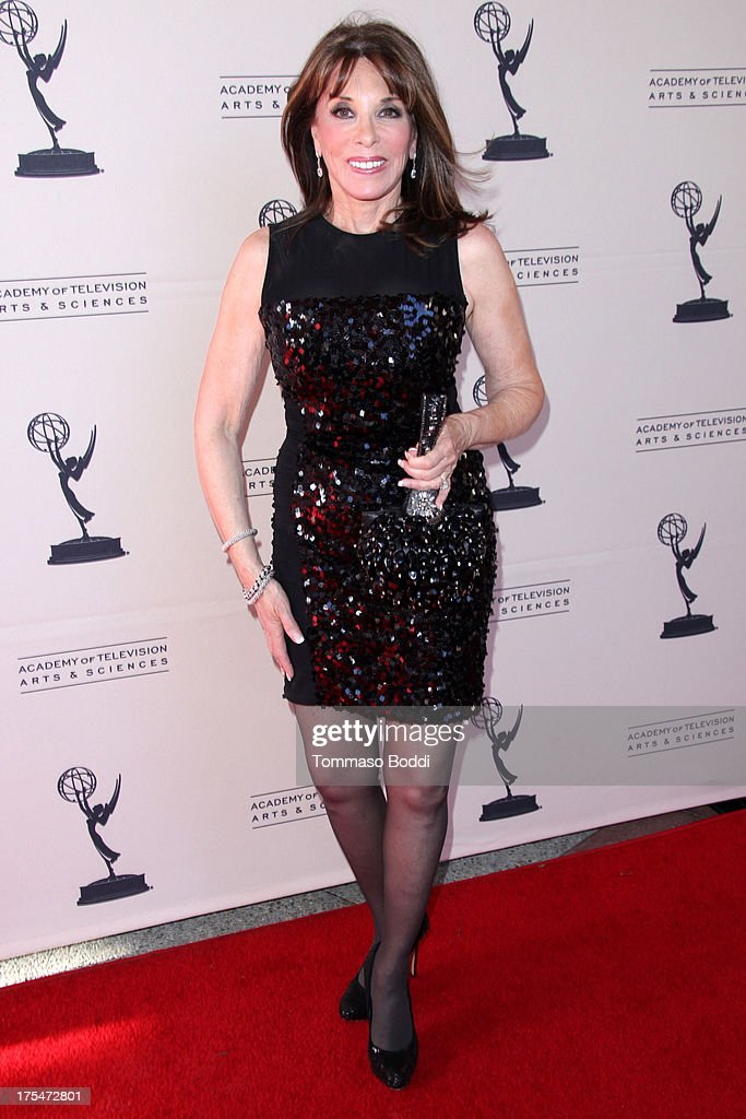 Actress Kate Linder attends the Academy Of Television Arts & Sciences 65th Los Angeles Area EMMY Awards held at the Leonard H. Goldenson Theatre on August 3, 2013 in North Hollywood, California.