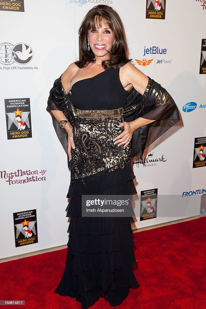 Actress Kate Linder attends The American Humane Association's Hero Dog Awards on October 6, 2012 in Beverly Hills, California.