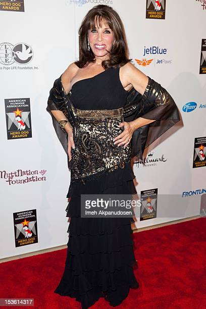 Actress Kate Linder attends The American Humane Association's Hero Dog Awards on October 6 2012 in Beverly Hills California