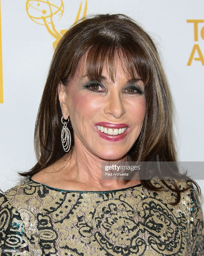 Actress <a gi-track='captionPersonalityLinkClicked' href=/galleries/search?phrase=Kate+Linder&family=editorial&specificpeople=213145 ng-click='$event.stopPropagation()'>Kate Linder</a> attends the Daytime Emmy Nominee Reception at The London West Hollywood on June 19, 2014 in West Hollywood, California.