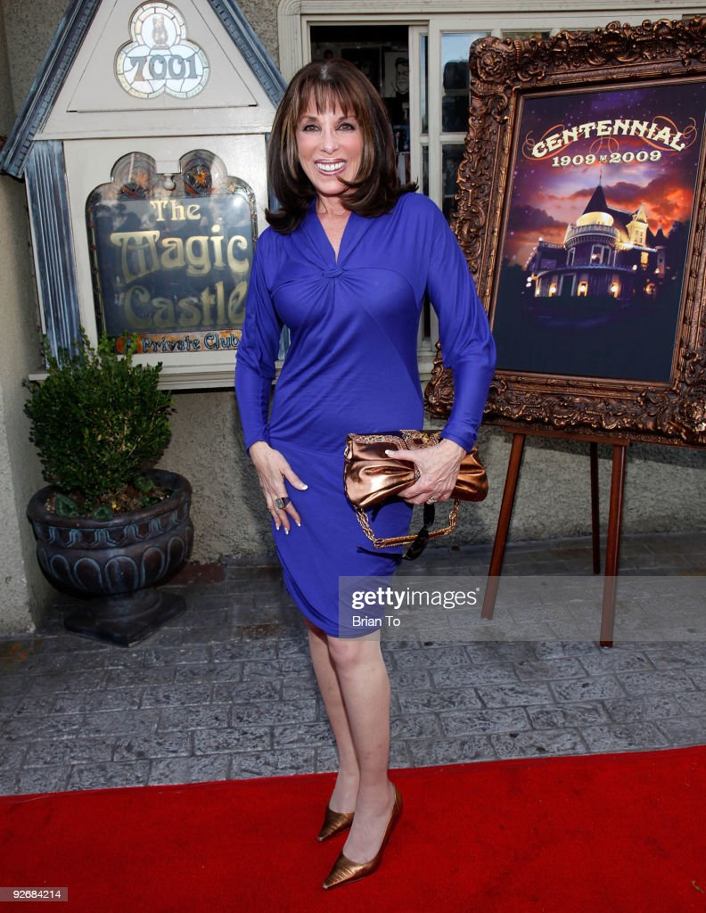 Actress Kate Linder attends The Magic Castle 100th Anniversary Celebration at The Magic Castle on November 3 2009 in Hollywood California