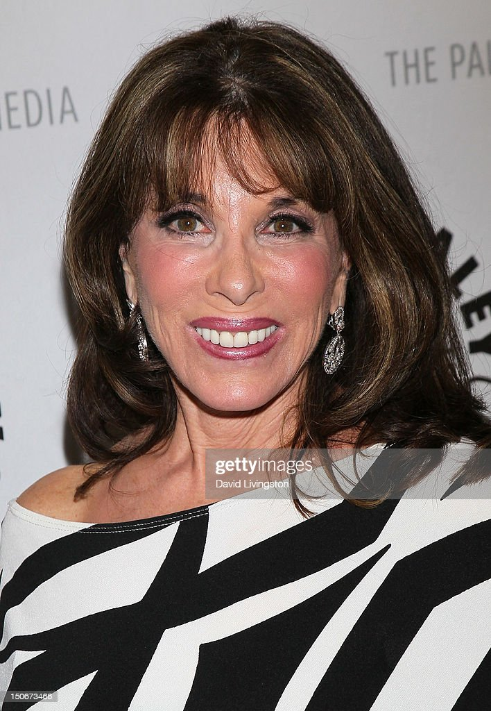 Actress Kate Linder attends The Paley Center for Media presentation of 'The Young and the Restless: Celebrating 10,000 Episodes' at The Paley Center for Media on August 23, 2012 in Beverly Hills, California.